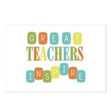 Great Teachers Inspire Postcards (Package of 8)