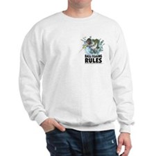 BASS FISHING RULES...STRIKE! Sweatshirt