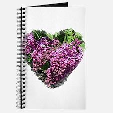 Lilac Heart Art #1 Journal