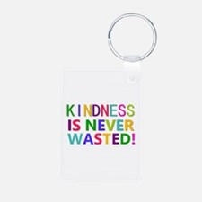 Kindness is Never Wasted Aluminum Photo Keychain