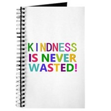 Kindness is Never Wasted Journal