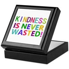 Kindness is Never Wasted Keepsake Box