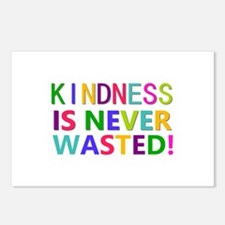 Kindness is Never Wasted Postcards (Package of 8)
