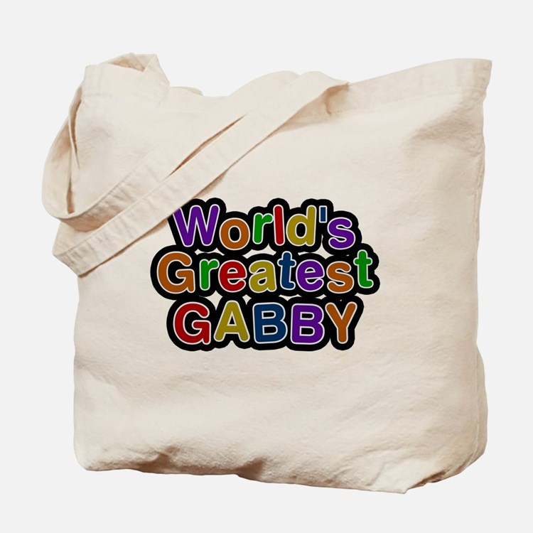 Worlds Greatest Gabby Tote Bag