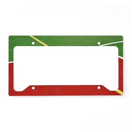 Basketball court License Plate Holder