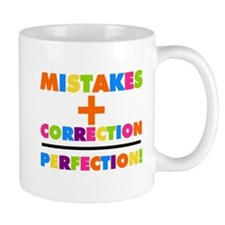 Mistakes Plus Correction Mug