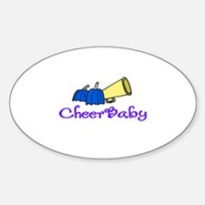 CheerBaby Oval Decal