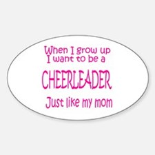 CheerBaby...just like MOM Oval Decal
