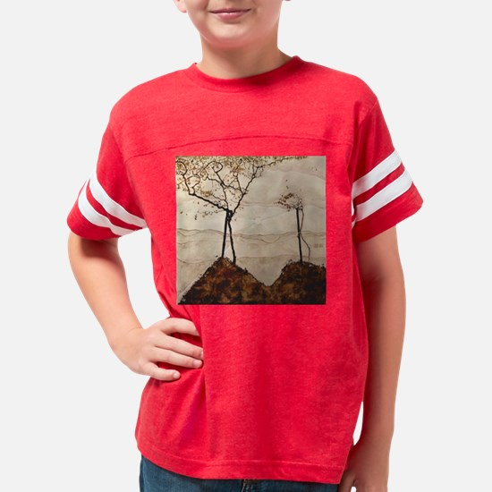 Autumn Sun and Trees by Egon  Youth Football Shirt