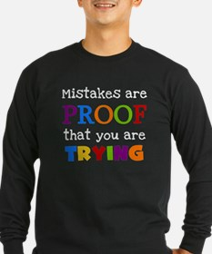 Mistakes Proof You Are Trying T