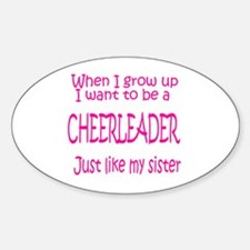 CheerBaby...just like Sister Oval Decal