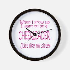 CheerBaby...just like Sister Wall Clock
