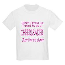 CheerBaby...just like Sister Kids T-Shirt