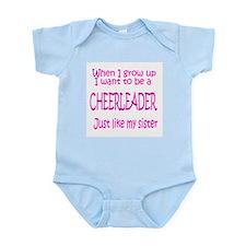 CheerBaby...just like Sister Infant Bodysuit
