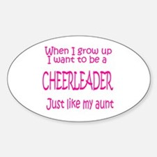 CheerBaby...just like Aunt Oval Decal