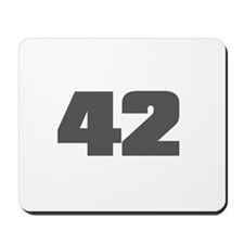 42 - Answer to The Ultimate Q Mousepad