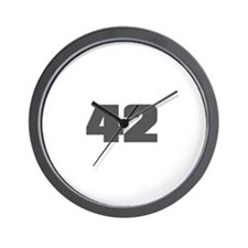 42 - Answer to The Ultimate Q Wall Clock