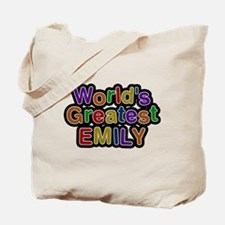 Worlds Greatest Emily Tote Bag