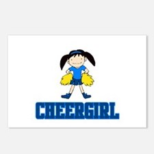 """CheerChick """"CheerGirl""""  Postcards (Package of 8)"""