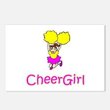 "CheerChick ""CheerGirl II"" Postcards (Package of 8)"