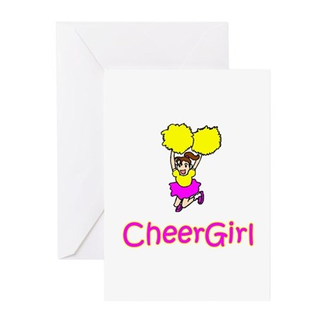 "CheerChick ""CheerGirl II"" Greeting Cards (Package"