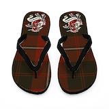 Cunningham tartan Flip Flops