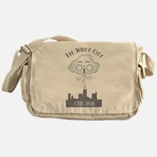 The Windy City Chicago Messenger Bag