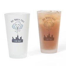 The Windy City Chicago Drinking Glass