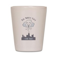 The Windy City Chicago Shot Glass