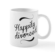 Happily divorced Small Mug