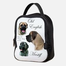 English Mastiff Neoprene Lunch Bag