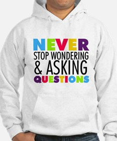 Never Stop Wondering Jumper Hoody