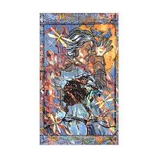 Raven Goddess Sticker (Rect.)