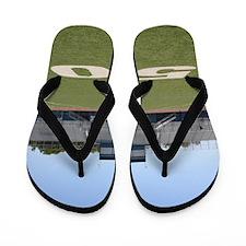 Football Field Fifty Flip Flops