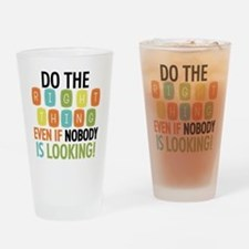 Do The Right Thing Drinking Glass