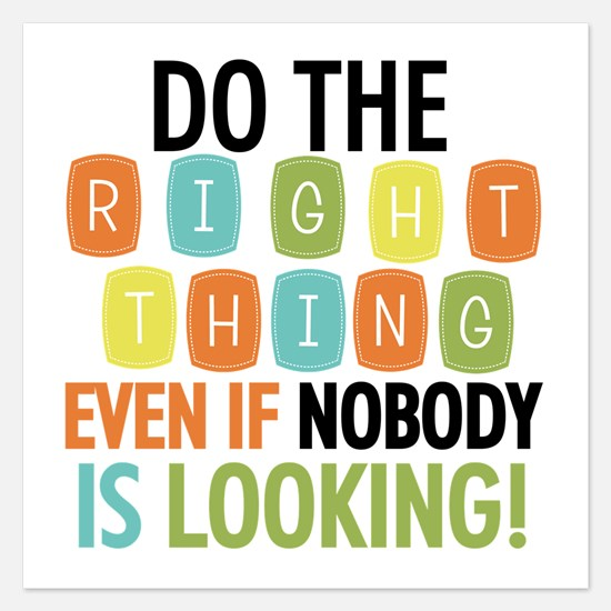 Do The Right Thing Invitations