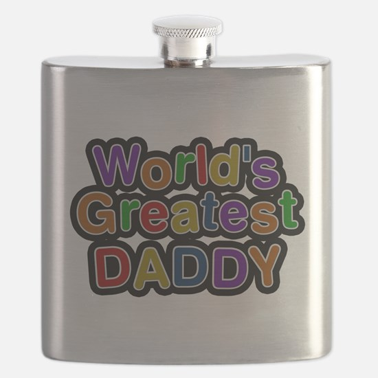 Worlds Greatest Daddy Flask