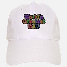Worlds Greatest Dad Baseball Baseball Baseball Cap