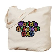 Worlds Greatest Dad Tote Bag