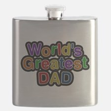 Worlds Greatest Dad Flask