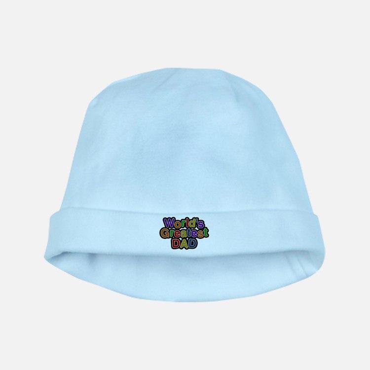 Worlds Greatest Dad baby hat