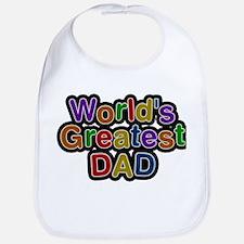 Worlds Greatest Dad Bib