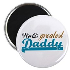 """Worlds Greatest Daddy 2.25"""" Magnet (10 pack)"""