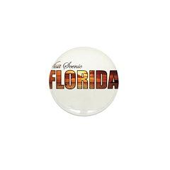 Visit Scenic Florida Mini Button (10 pack)