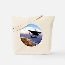 Hang Gliding Over the California Coast Tote Bag
