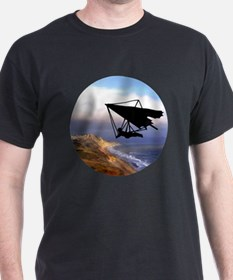Hang Gliding Over the California Coas T-Shirt