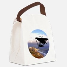 Hang Gliding Over the California  Canvas Lunch Bag