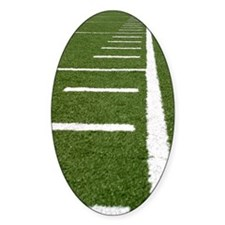 Football Lines Decal