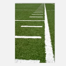 Football Lines Postcards (Package of 8)