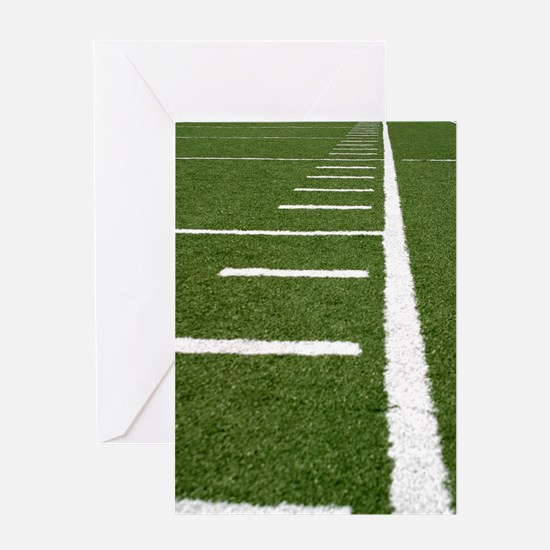 Football Lines Greeting Card